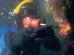 Onderwater branden